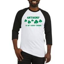 Anthony is my lucky charm Baseball Jersey