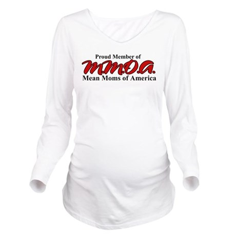 meanmoms.png Long Sleeve Maternity T-Shirt