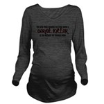 distaste.png Long Sleeve Maternity T-Shirt