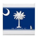 Mt. Pleasant, SC Tile Coaster