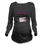 benicedebbie.png Long Sleeve Maternity T-Shirt