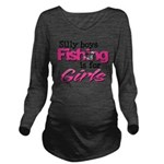 silly boys2.png Long Sleeve Maternity T-Shirt