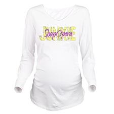 Soap Opera Junkie Long Sleeve Maternity T-Shirt
