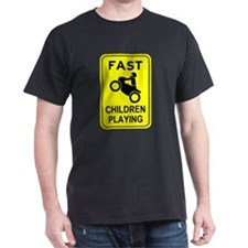 Fast Children Playing T-Shirt