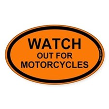 Funny Motorcycles Decal
