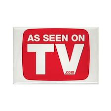 As Seen On TV Logo Rectangle Magnet