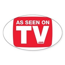 As Seen On TV Logo Decal