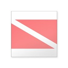 Dive Rectangle Sticker