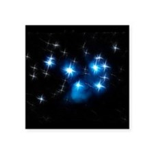 Pleiades Blue Star Cluster Sticker
