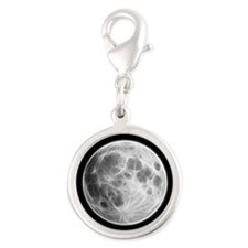 Full Moon Lunar Globe Charms