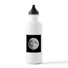 Full Moon Lunar Globe Water Bottle
