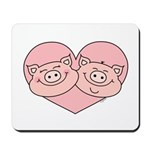 Piggy Love Mousepad