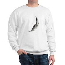 Quarter Moon Lunar Planet Globe Sweatshirt
