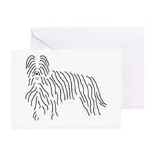 Briard Sketch Greeting Cards (Pk of 10)