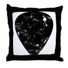 Funny Guitar music Throw Pillow