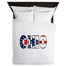 Ohio Queen Duvet