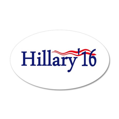 Hillary 16: Wall Decal