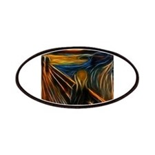 The Scream Fractal Painting Edvard Munch Patches
