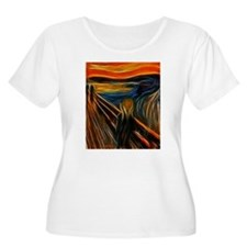 The Scream Fractal Painting Edvard Munch Plus Size