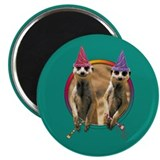 "Meerkat Birthday 2.25"" Magnet (100 pack)"