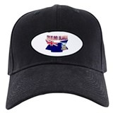 Falkland flag ribbon Baseball Hat