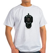 Wrong House - barrel of gun pointed T-Shirt
