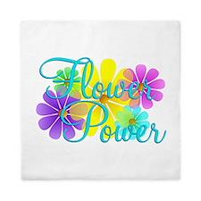 Flower Power Queen Duvet
