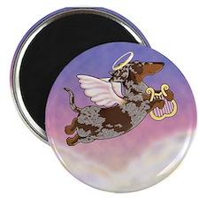 Chocolate Dapple Angel Magnet