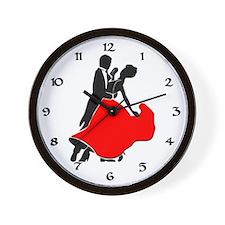 Shall We Dance Wall Clock