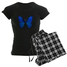 Blue Butterfly Fractal Pajamas