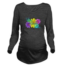 Live Laugh Love Long Sleeve Maternity T-Shirt