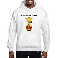 Custom Valentine Giraffe Jumper Hoody