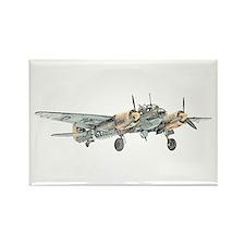 Junkers Bomber Rectangle Magnet