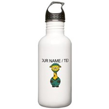 Custom Surgeon Giraffe Sports Water Bottle