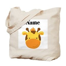 Personalized Giraffe Tote Bag