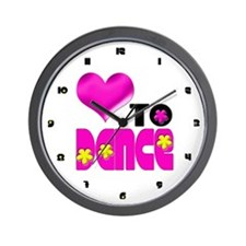 Love to Dance Wall Clock