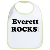 Everett Rocks! Bib