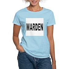 Warden (Front) Women's Pink T-Shirt