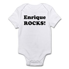 Enrique Rocks! Infant Bodysuit