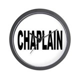 Chaplain Wall Clock
