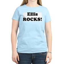 Ellis Rocks! Women's Pink T-Shirt