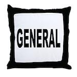 General Throw Pillow