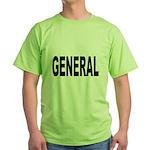 General (Front) Green T-Shirt