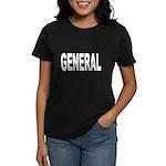 General (Front) Women's Dark T-Shirt
