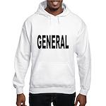 General (Front) Hooded Sweatshirt