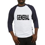 General (Front) Baseball Jersey