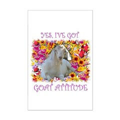 Goat Attitude! Posters