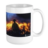 Double Fire Fighter Coffee Mug