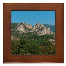 SENECA ROCKS Framed Tile