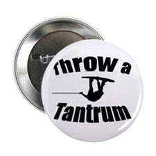 "Throw a Tantrum 2.25"" Button (100 pack)"
